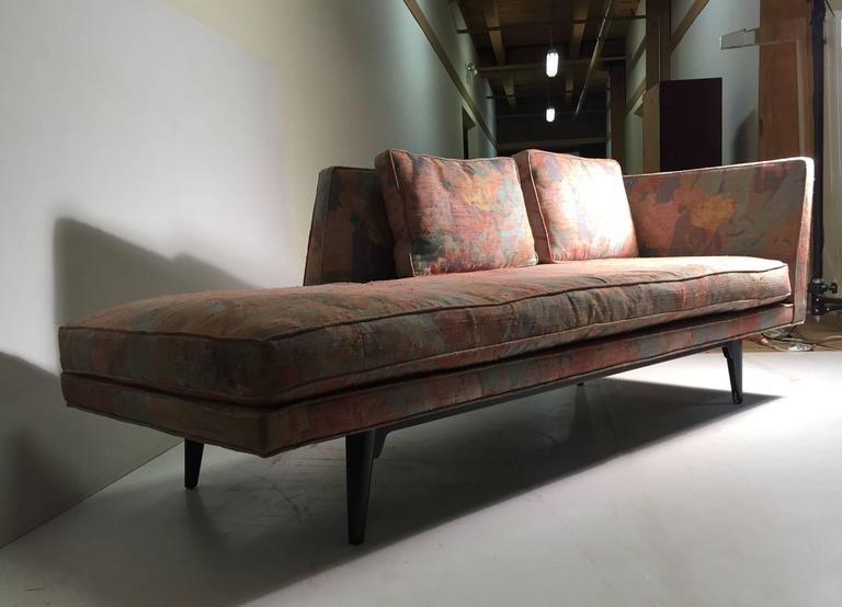 Edward wormley for dunbar chaise longue sofa for sale at for Sofa 1 plaza chaise longue