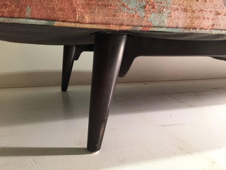 American Edward Wormley for Dunbar Chaise Longue Sofa For Sale