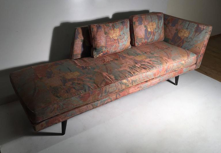 Mid-Century Modern Edward Wormley for Dunbar Chaise Longue Sofa For Sale