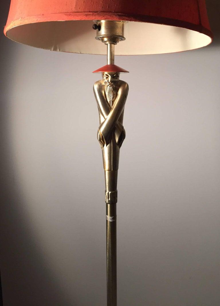 Early Vintage Deco Viktor Schreckengost Floor Lamp Example