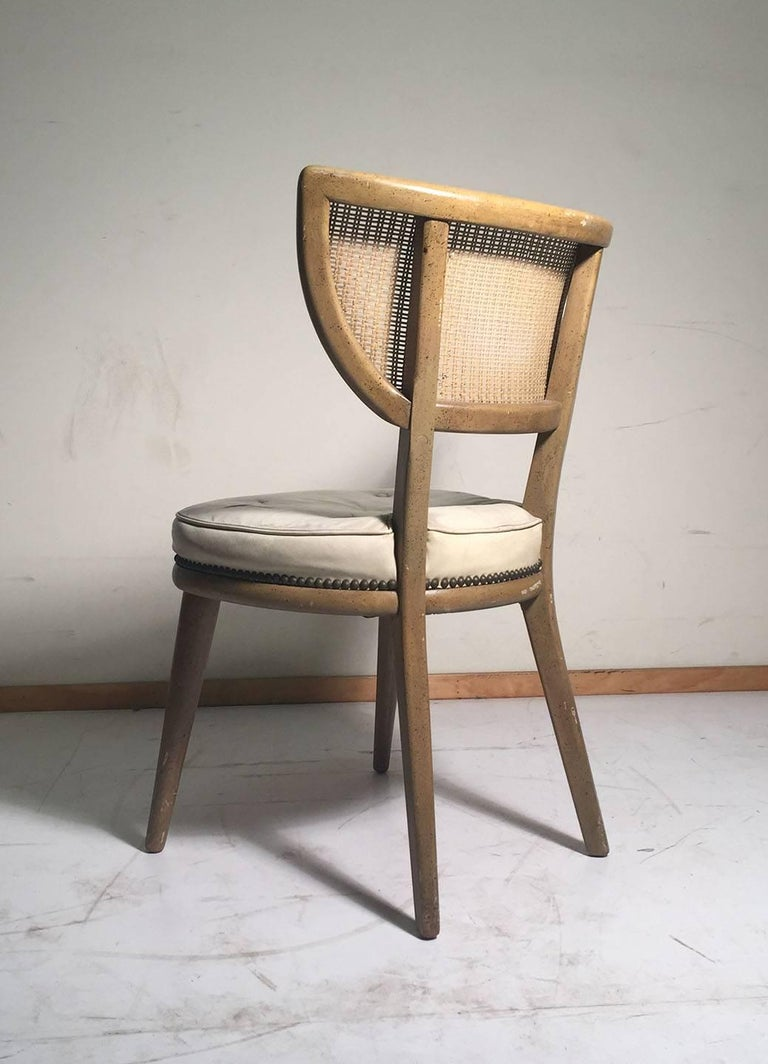 Set of Four Vintage William Haines Style Chairs For Sale 4