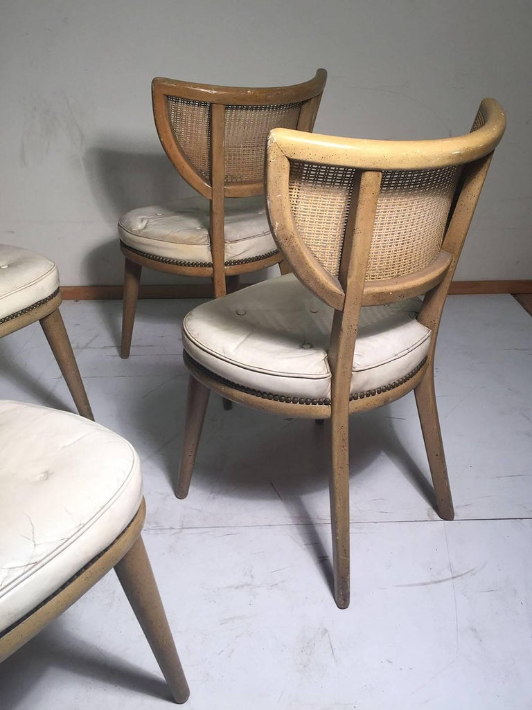 20th Century Set of Four Vintage William Haines Style Chairs For Sale