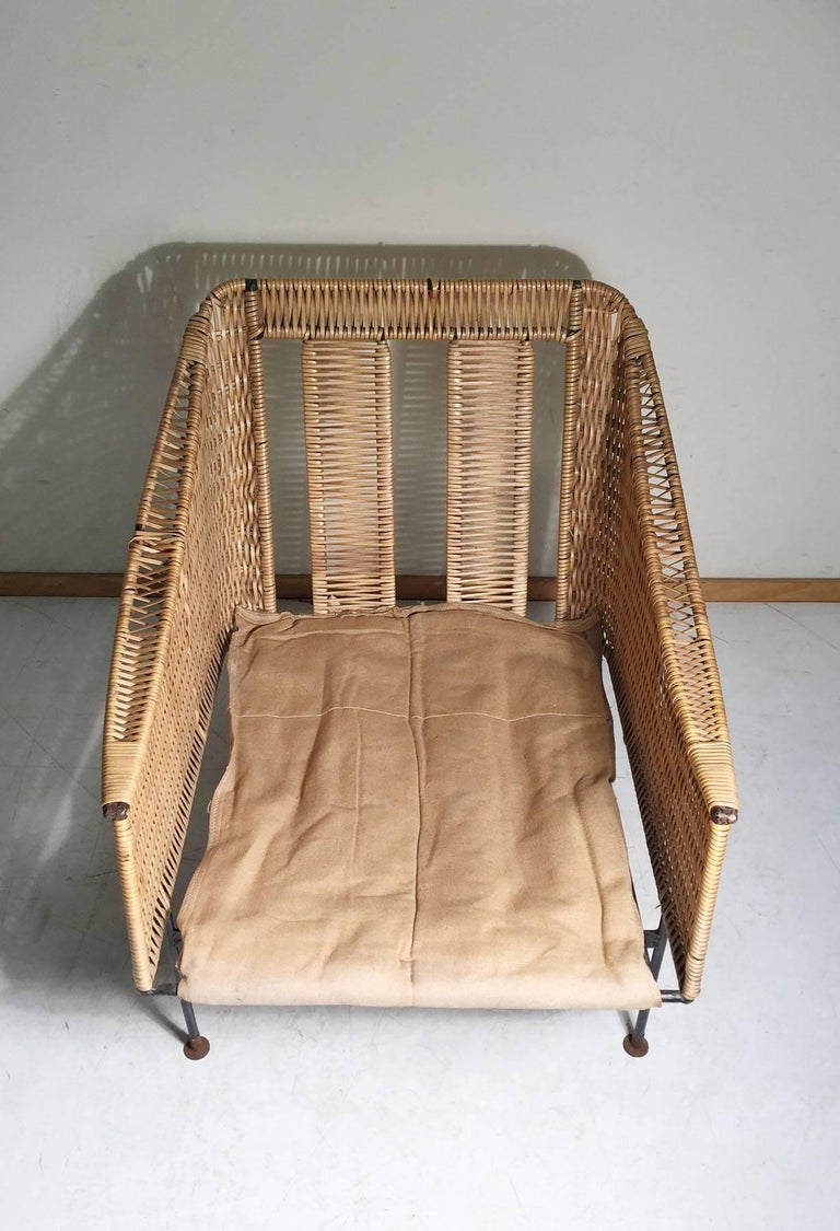 Rare Maurizio Tempestini Salterini Lounge Chair In Good Condition For Sale In Chicago, IL