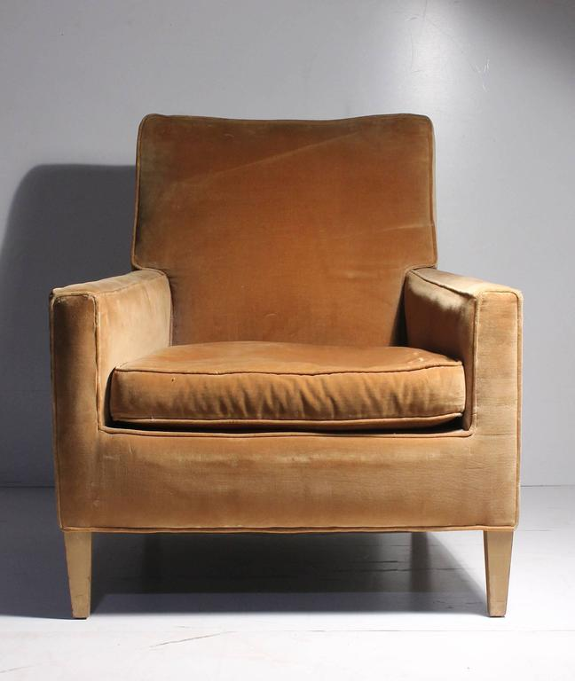 20th Century Vintage Robsjohn-Gibbings Lounge Chair For Sale