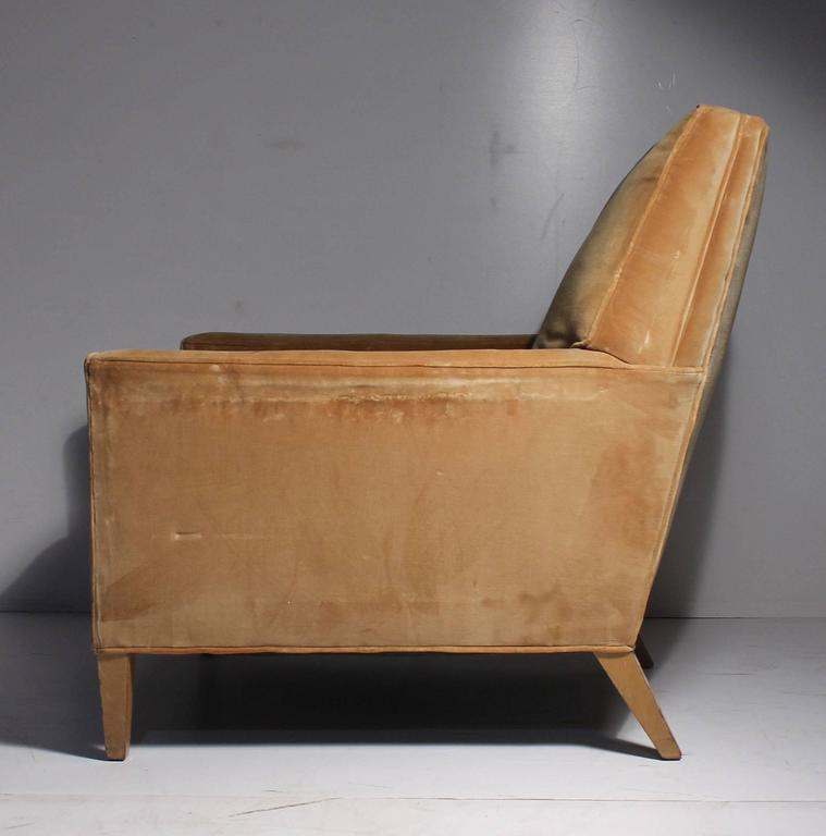 Mid-Century Modern Vintage Robsjohn-Gibbings Lounge Chair For Sale