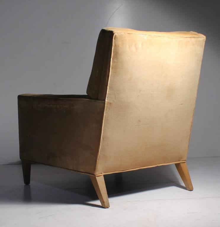Vintage Robsjohn-Gibbings Lounge Chair In Good Condition For Sale In Chicago, IL