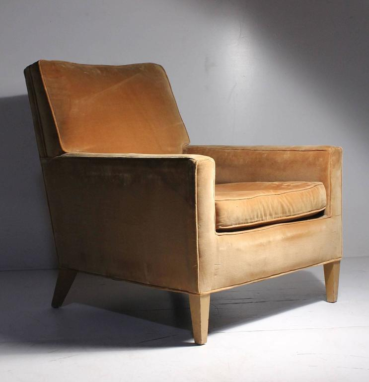 American Vintage Robsjohn-Gibbings Lounge Chair For Sale