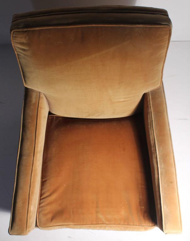 Vintage Robsjohn-Gibbings Lounge Chair For Sale 1