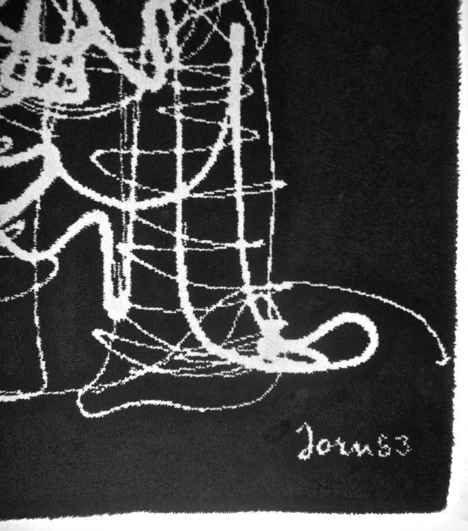 Ege Art Line Rug: Asger Jorn (After) Ege Axminster Carpet For Sale At 1stdibs