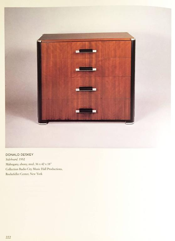 A superb example of this Donald Deskey Chest form. 