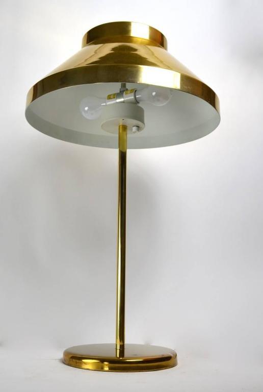 American Rare Brass Paul Mayen for Habitat Table Lamp For Sale