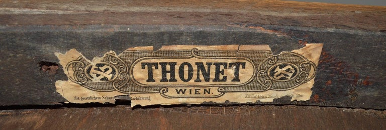 Bentwood Bench by Thonet For Sale 4