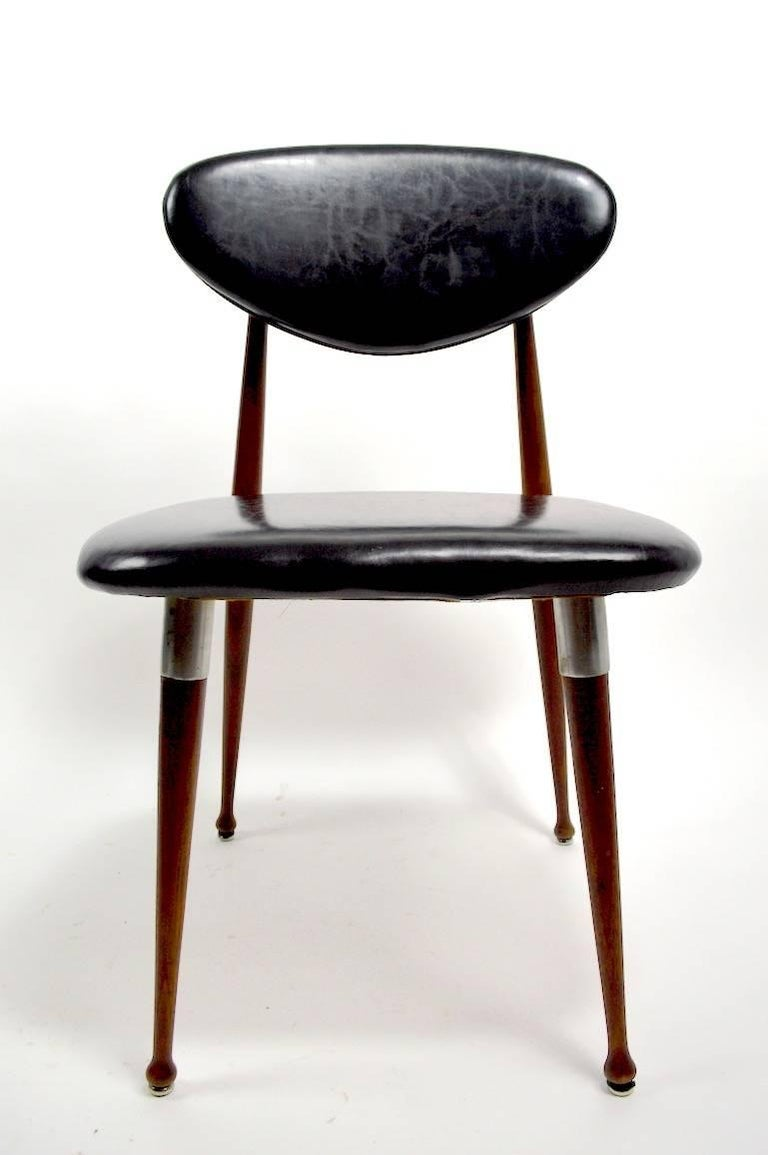 Two Dan Johnson For Shelby Williams Crucible Chairs For