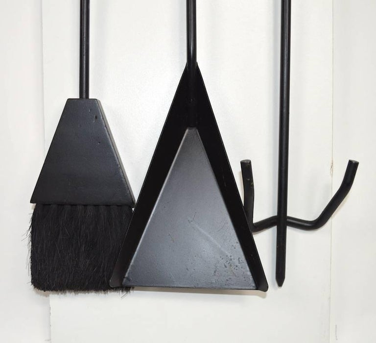 Modernist Wall Mount Fireplace Attributed To Seymor For Sale At 1stdibs