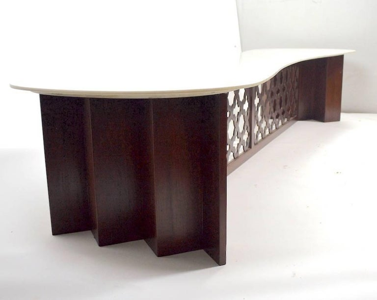 Stylish Extra Long Coffee Table For Sale At 1stdibs