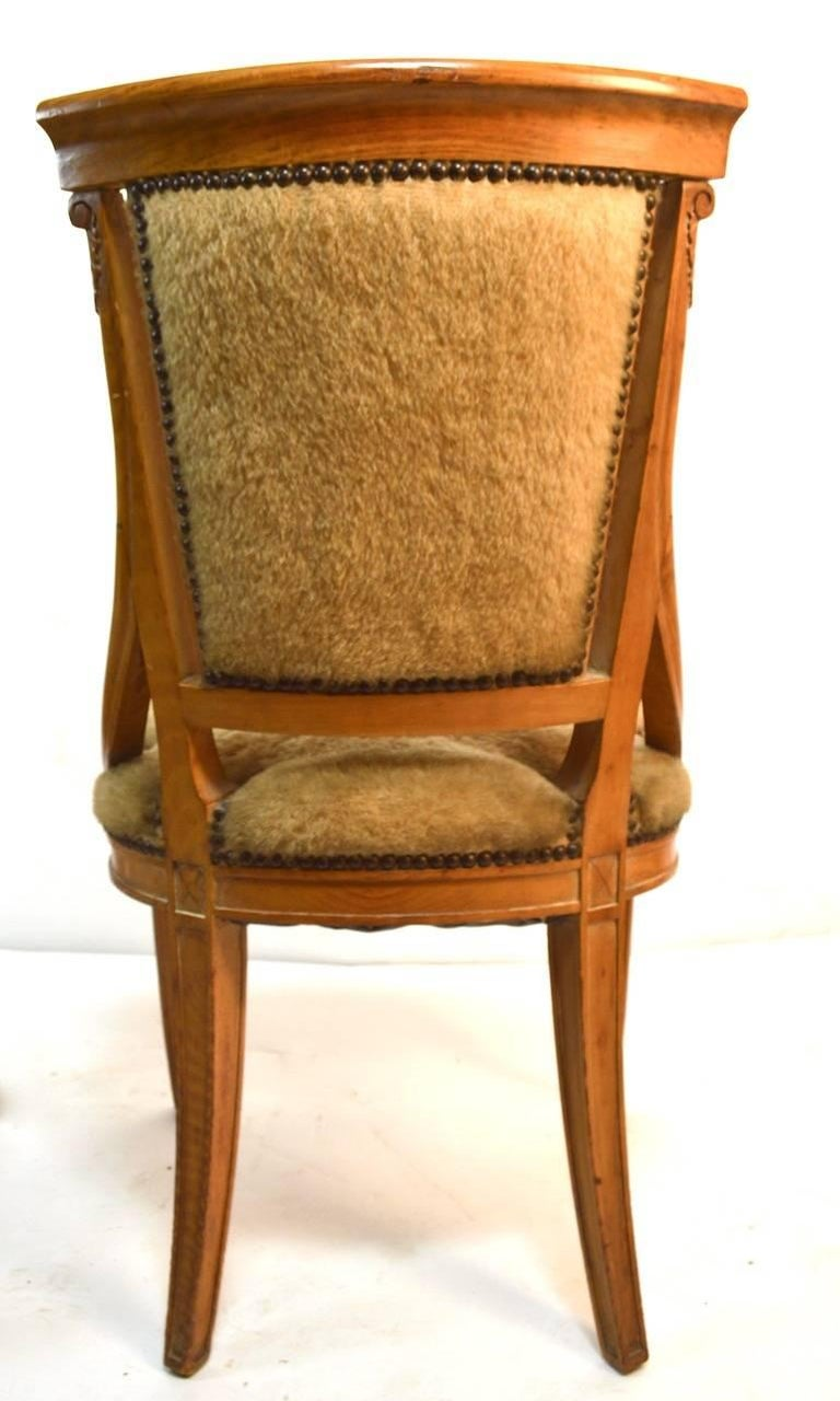 Set of Four Grosfeld House Chairs in the Hollywood Regency Style For Sale 2