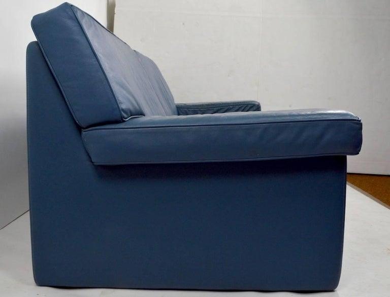 Walter Knoll Leather Sofa for Sirino Brayton International For Sale 2