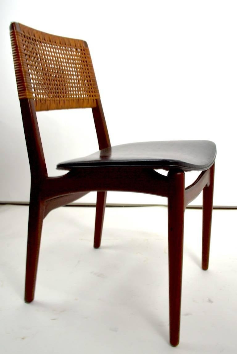 Set Of Six Danish Dining Chairs By Maurice Villency For 1