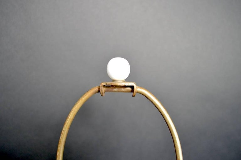 Mid-Century Modern Chrome X-Base Lamp by Sonneman For Sale
