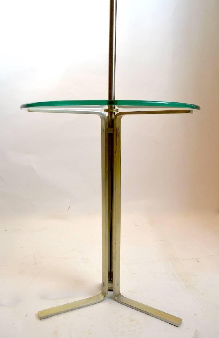 Floor Table Lamp by the Laurel Lamp Company In Good Condition For Sale In New York, NY