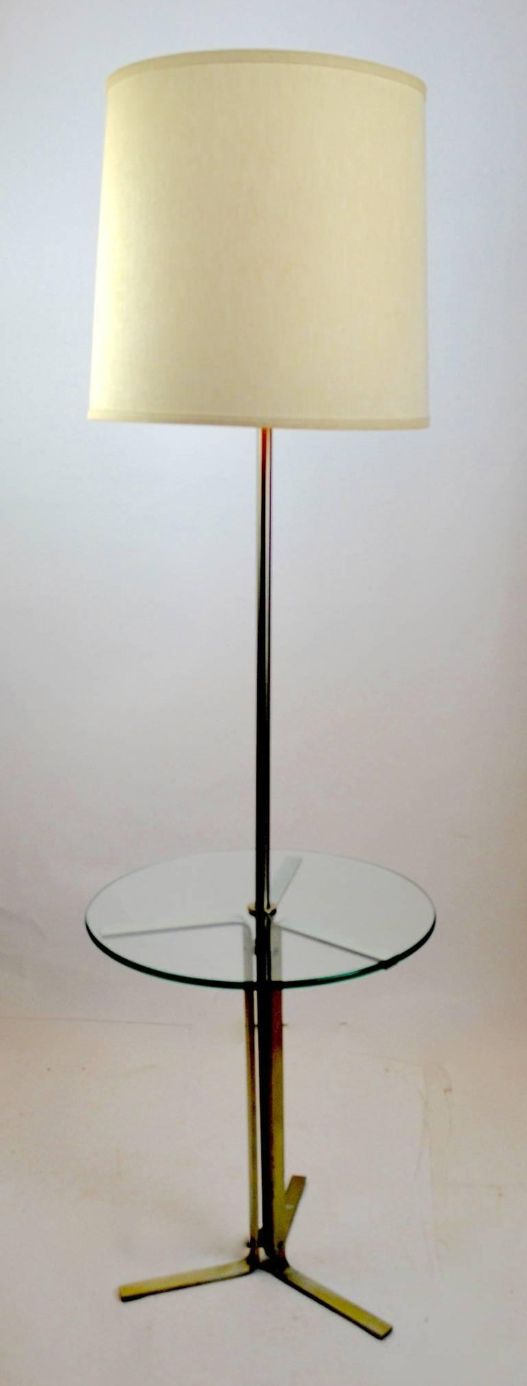 20th Century Floor Table Lamp by the Laurel Lamp Company For Sale