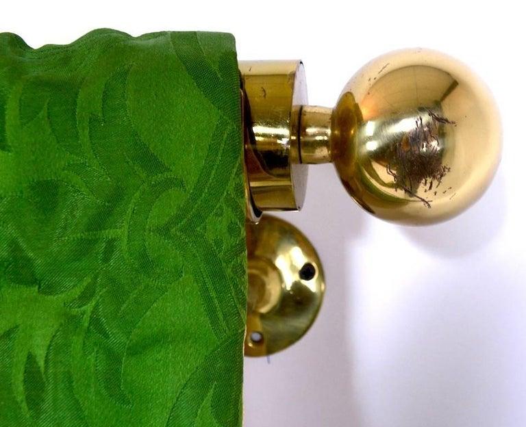 Decorative Tapestry on Brass Rod 8