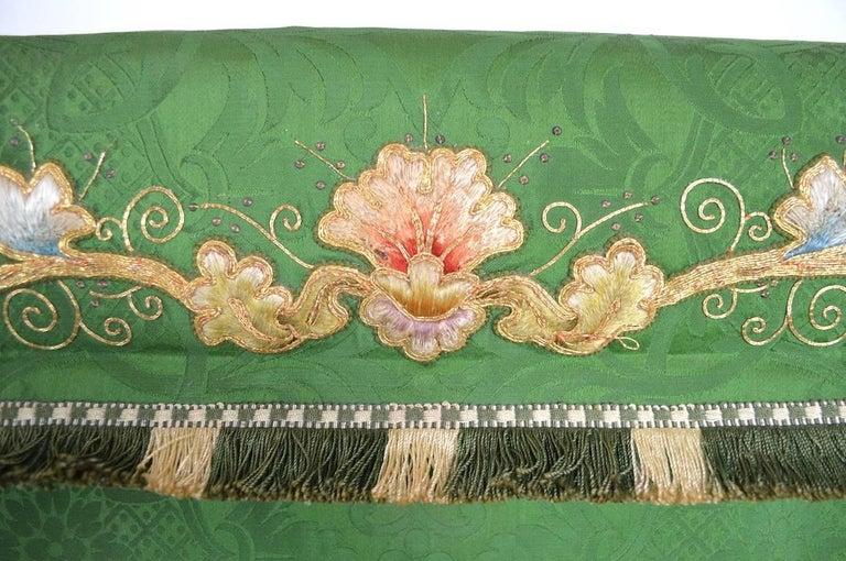 Decorative Tapestry on Brass Rod 6