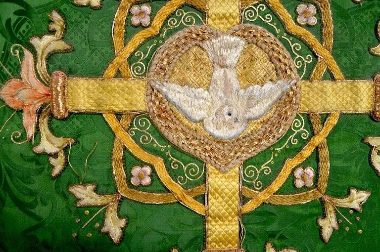 Decorative Tapestry on Brass Rod 4