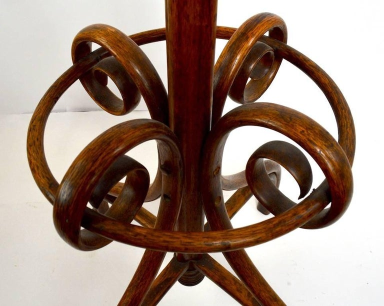 Thonet Coat Stand In Excellent Condition For Sale In New York, NY