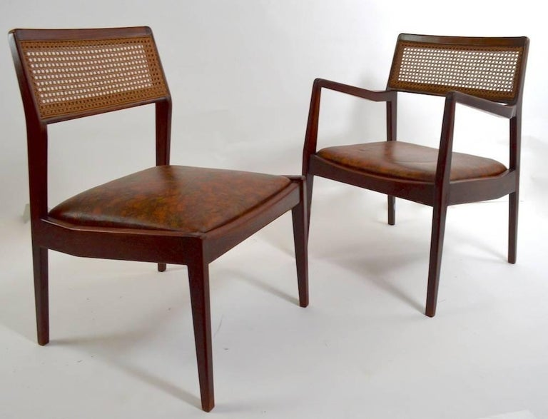 Set of Six Risom Dining Chairs For Sale 2