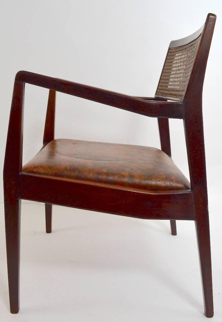 Set of Six Risom Dining Chairs In Good Condition For Sale In New York, NY