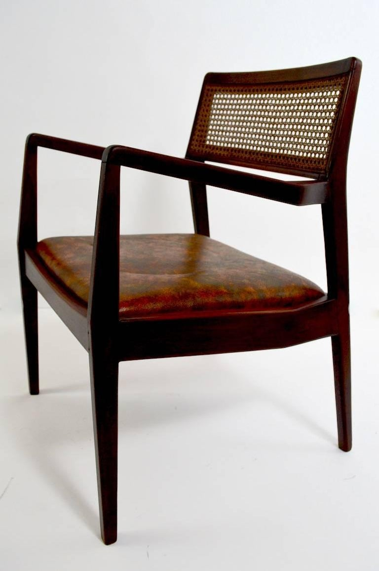 Mid-Century Modern Set of Six Risom Dining Chairs For Sale