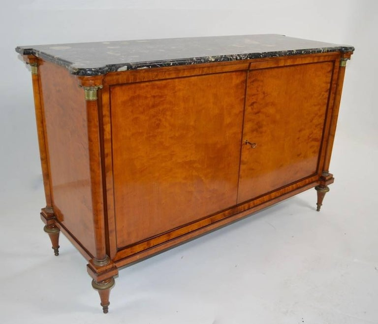 Directoire Style Marble-Top Commode For Sale 3