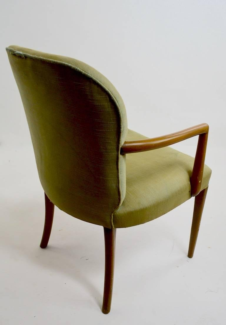 Pair of Armchairs after Robsjohn-Gibbons 6