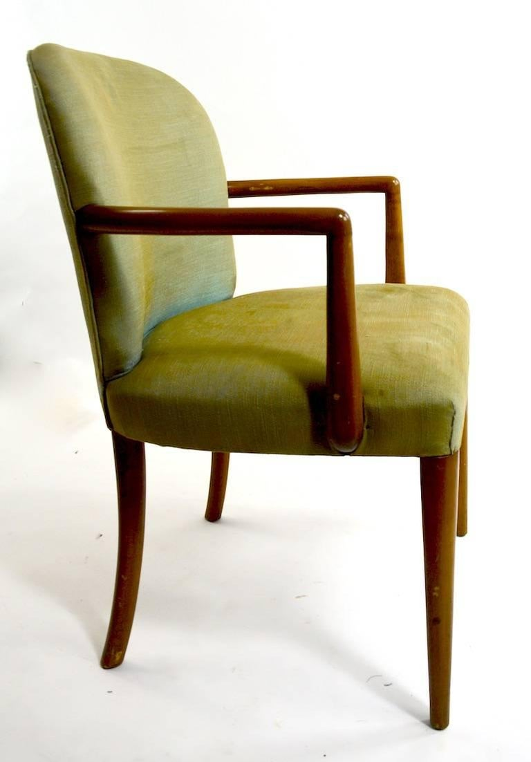 Pair of Armchairs after Robsjohn-Gibbons 8