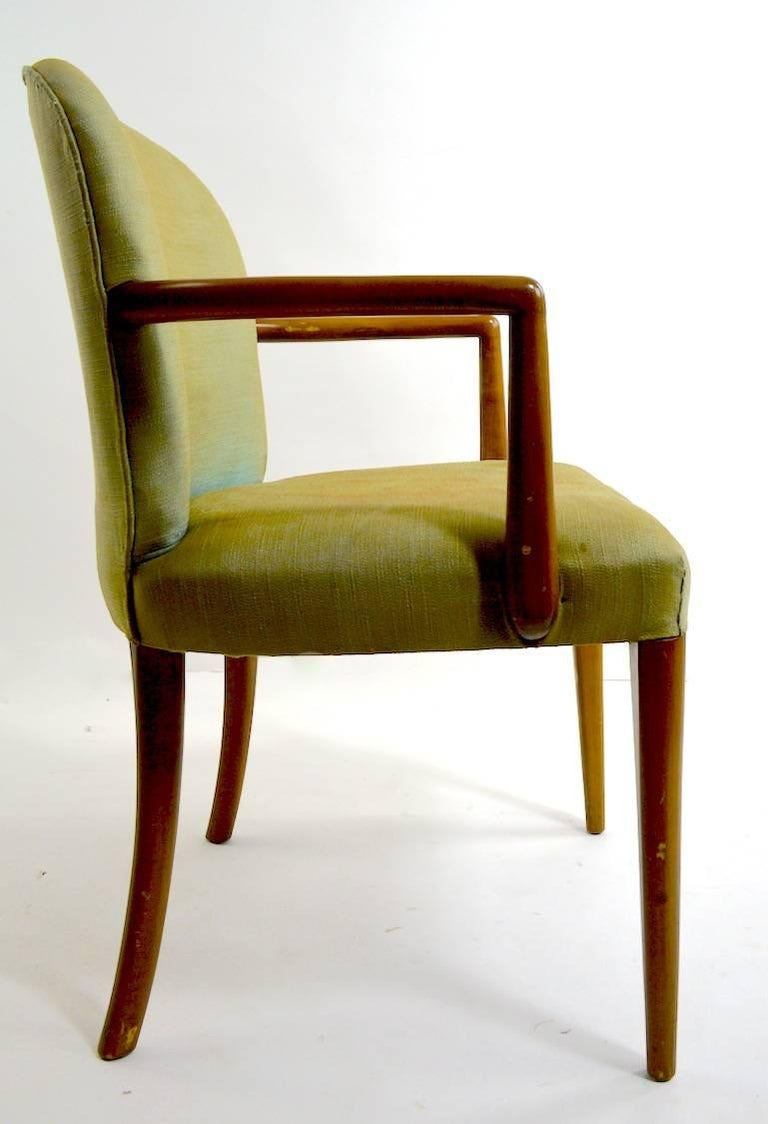 Pair of Armchairs after Robsjohn-Gibbons 7