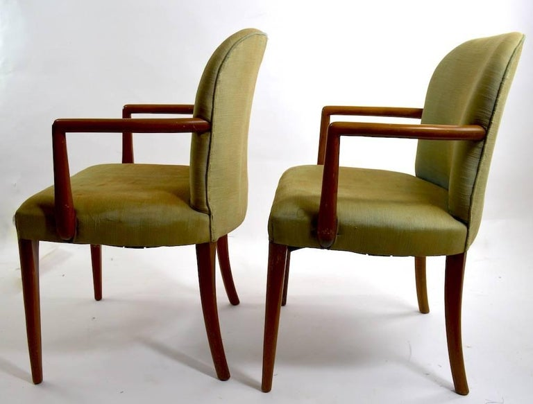 Pair of Armchairs after Robsjohn-Gibbons 4