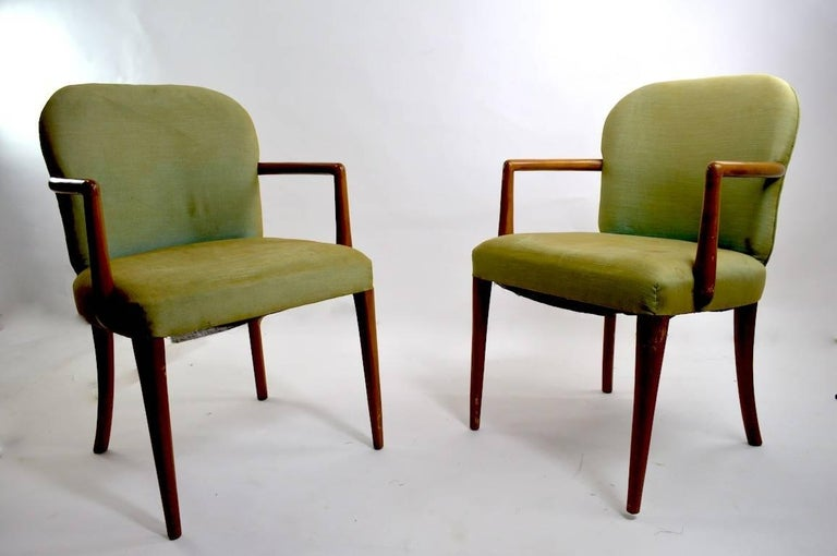 Pair of Armchairs after Robsjohn-Gibbons 3