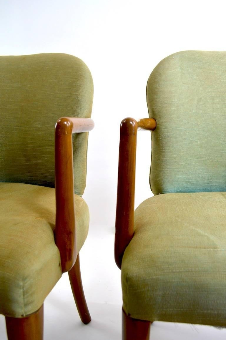 Pair of Armchairs after Robsjohn-Gibbons 2