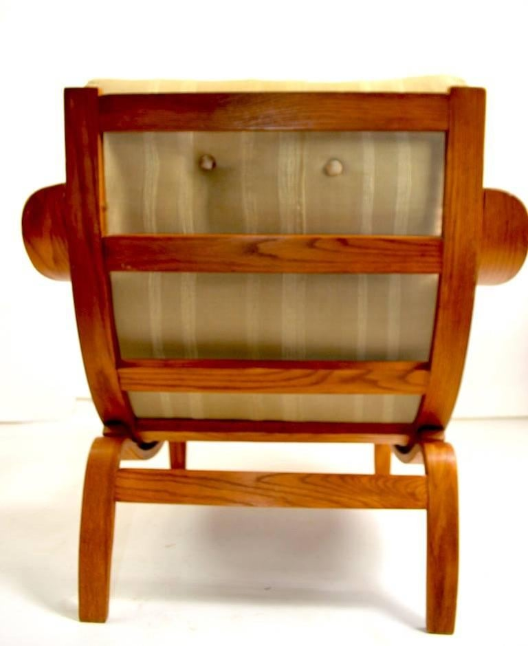 Bent Ply Lounge Chair after Bruno Mathsson For Sale 1