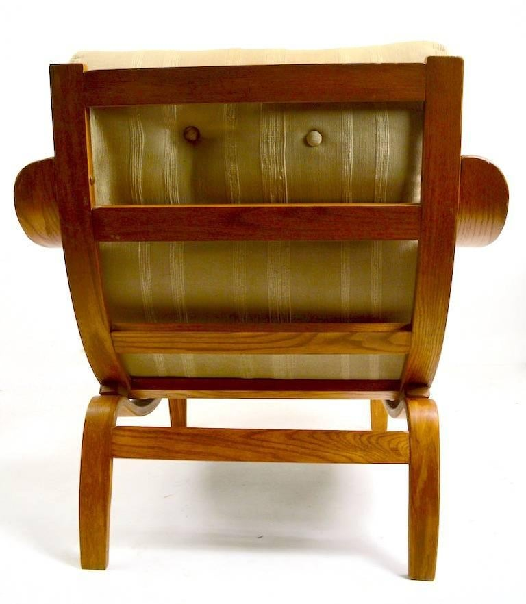 Bent Ply Lounge Chair after Bruno Mathsson For Sale 2