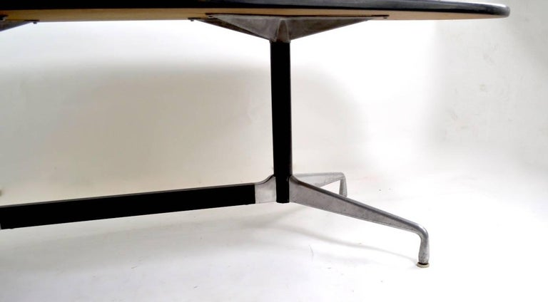 Mid-Century Modern Eames for Herman Miller Conference Dining Table For Sale