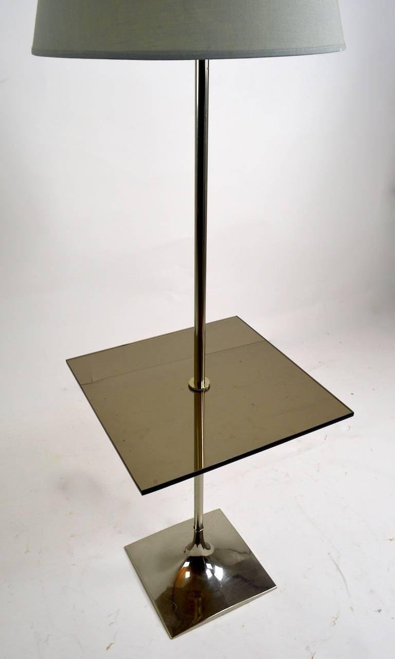 20th Century Floor Table Lamp by Laurel For Sale