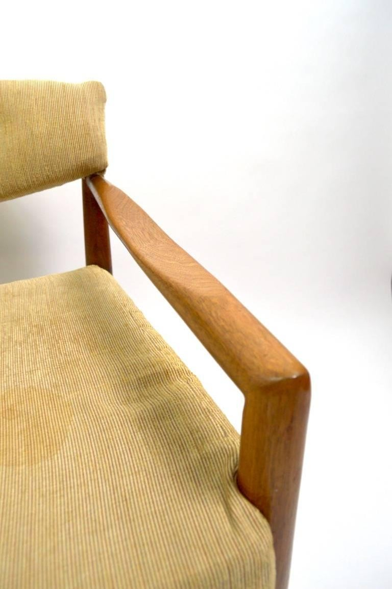 Mid-Century Modern Pair of Adrian Pearsall Lounge Chairs For Sale
