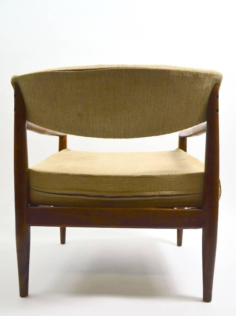 Pair of Adrian Pearsall Lounge Chairs For Sale 1