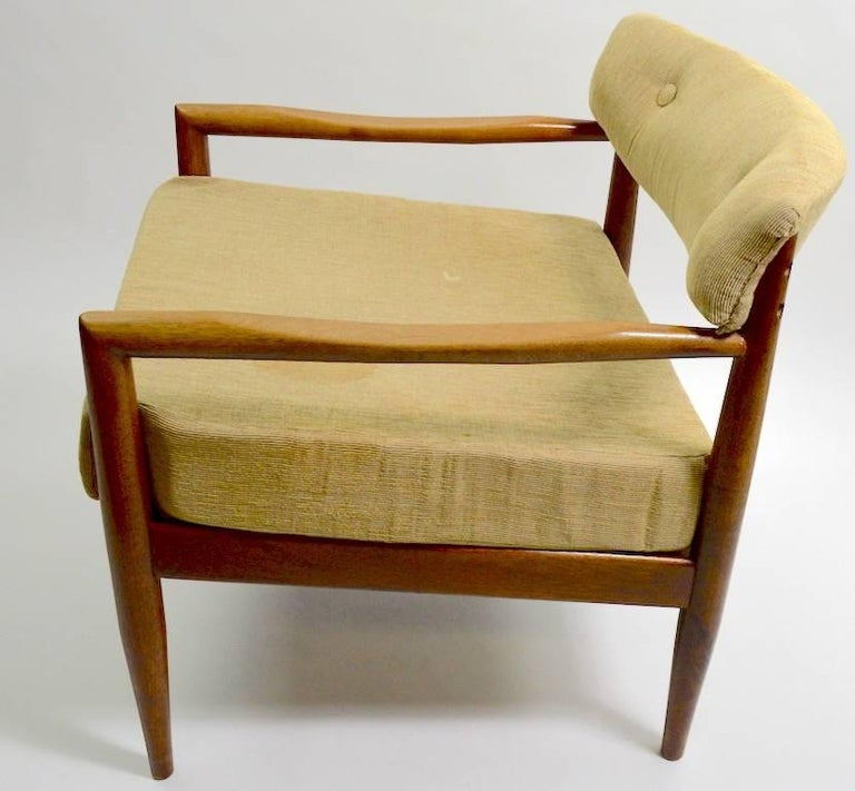 Pair of Adrian Pearsall Lounge Chairs For Sale 2