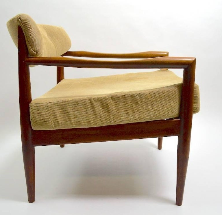 Pair of Adrian Pearsall Lounge Chairs In Good Condition For Sale In New York, NY