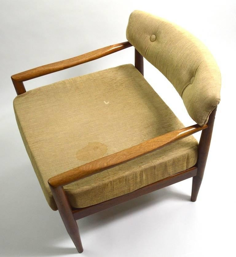 Pair of Adrian Pearsall Lounge Chairs For Sale 4