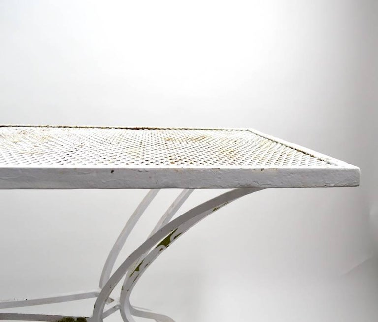 Unusual Console Table Attributed to Salterini In Good Condition For Sale In New York, NY