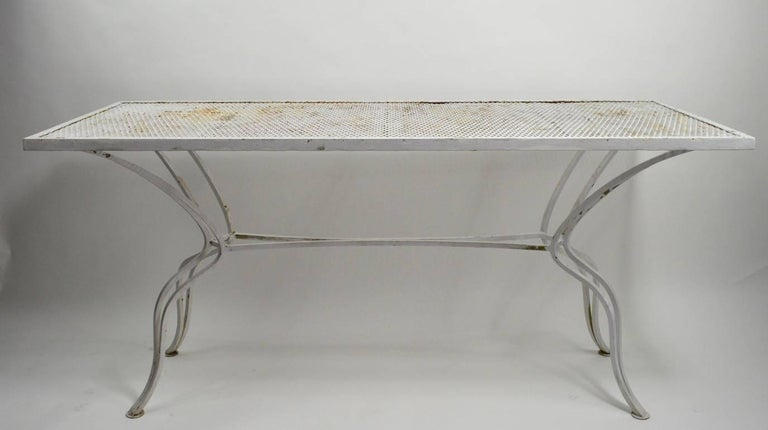 Unusual Console Table Attributed to Salterini For Sale 6